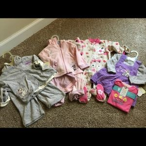 NWT Baby Bundle! 5 Disney/Carter's Outfits 3-6mos